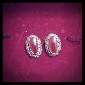 925 VTG Sterling Silver *Clip-On* Earrings